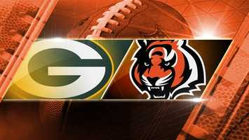 BENGALS WIN 34-30. Week 3: Packers at Bengals: The Green Bay Packers come to Cincinnati on Sunday, Sept. 22 at 1 p.m. at Paul Brown Stadium.