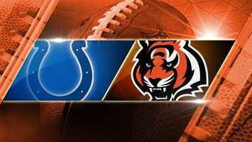 BENGALS WIN 42-28. Week 14: Colts at Bengals: In a rematch from the preseason, the Colts play the Bengals on Sunday, Dec. 8 at 1 p.m. at Paul Brown Stadium.