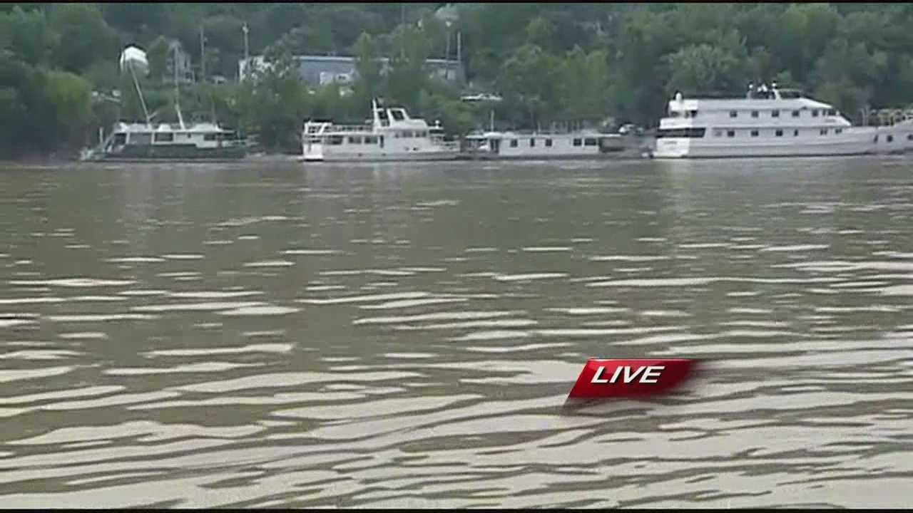 A lot of boaters are hitting the water today especially around the Riverbend for the Jimmy Buffet concert.