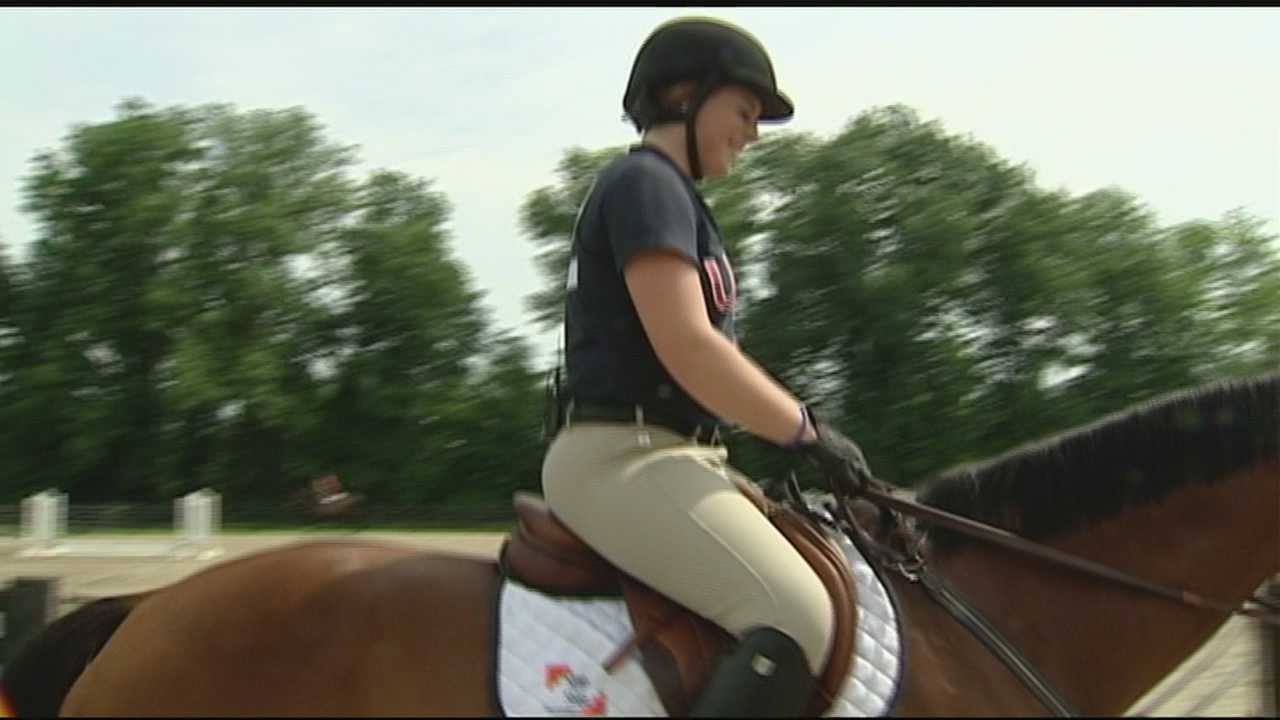 A Clermont County teen has dreams of competing at the Olympic level in Equestrian.