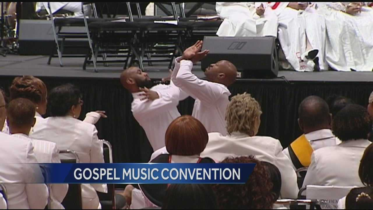 The largest gospel music convention in the United States is back in the Tri-state.