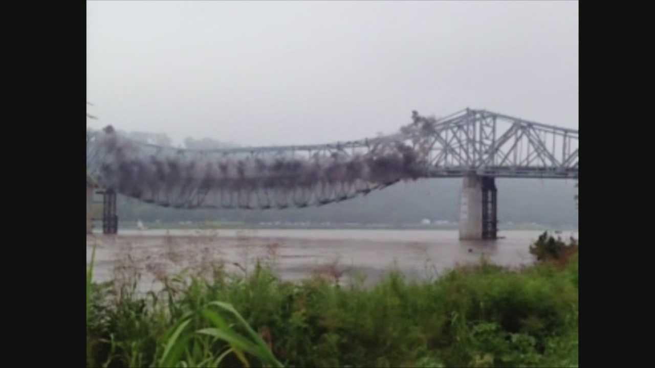 Milton-Madison Bridge Demolition