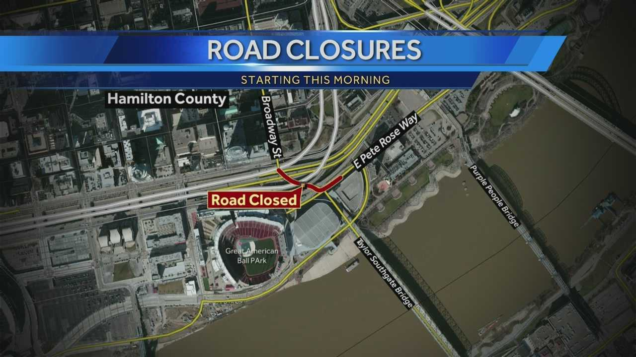 More road closures for Banks work