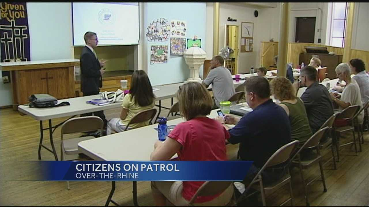 Citizens on Patrol graduate graduating first Over-the-Rhine class