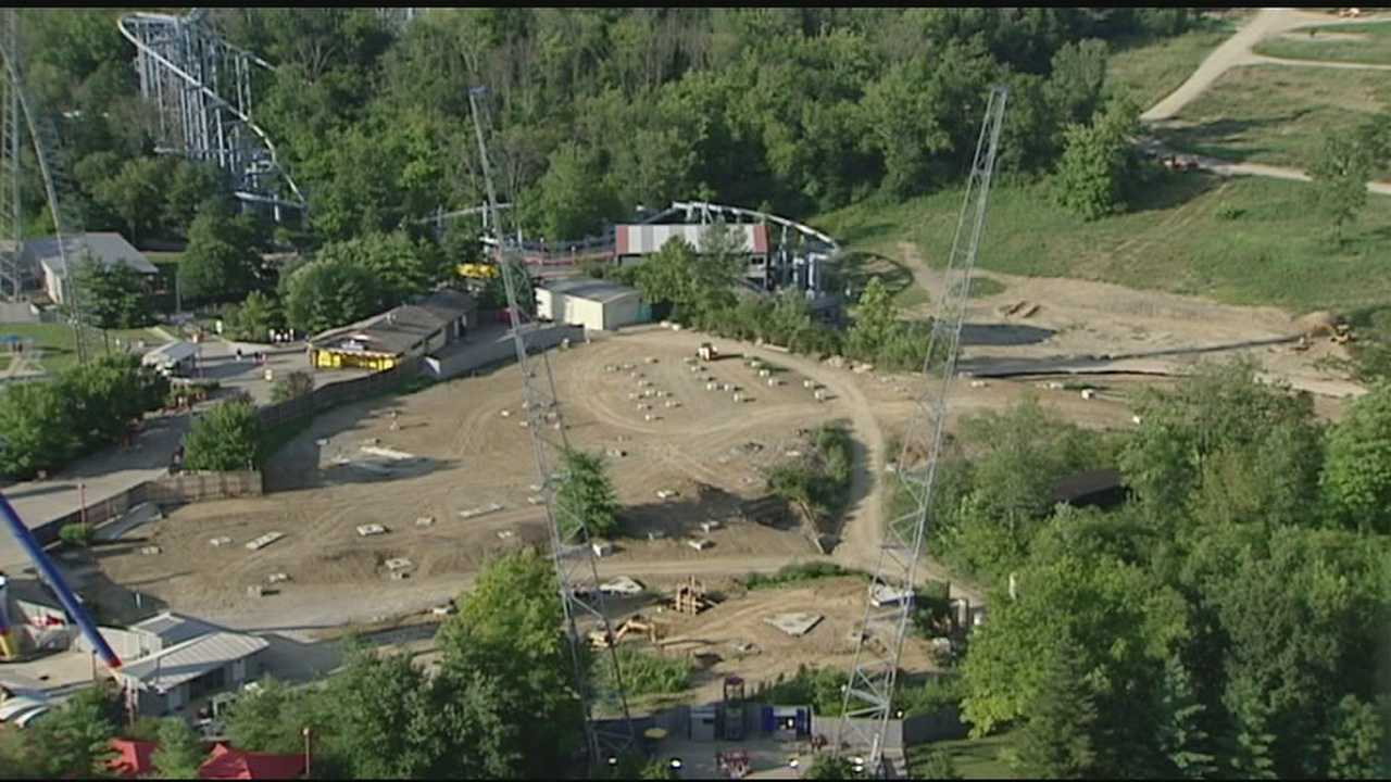 Kings Island new attraction appears to be a coaster