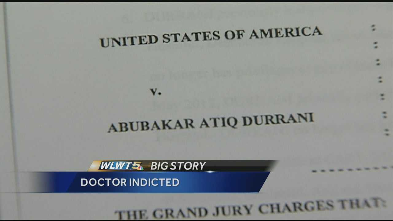 Spine surgeon indicted on 10 federal counts, faces 125 years