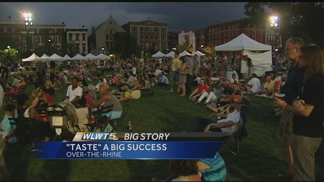 The first annual Taste of OTR took over Washington Park Saturday night. It was a food festival so successful, many vendors ran out of eats.