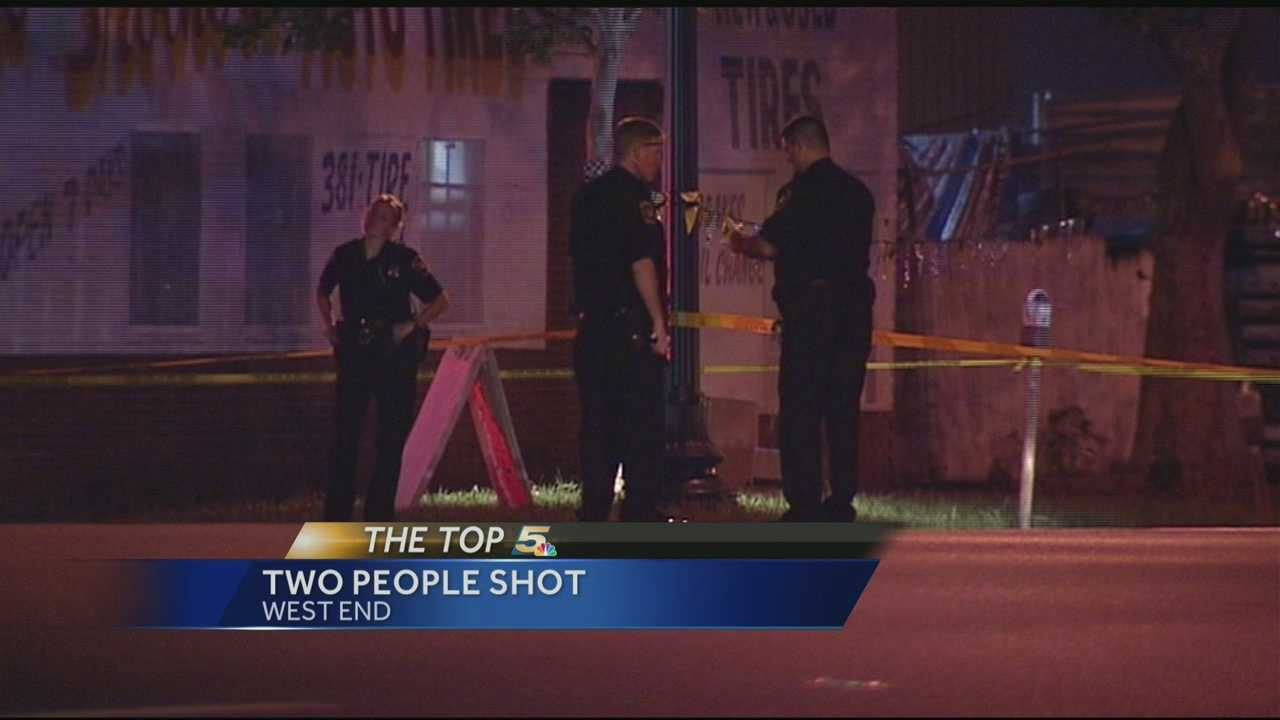 Two shot in West End