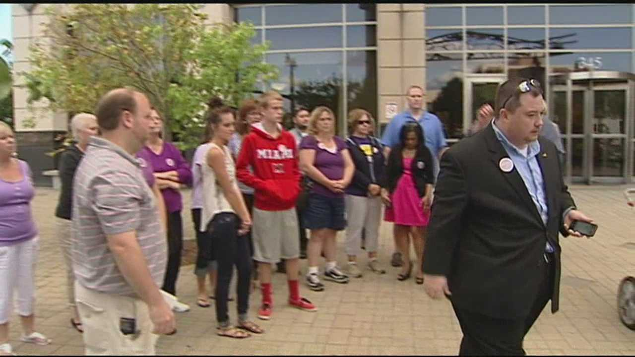 Parents from across the Tri-state protested against proposed cuts to Head Start programs in Butler County.