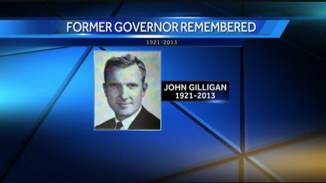 Former Gov. John Gilligan dies
