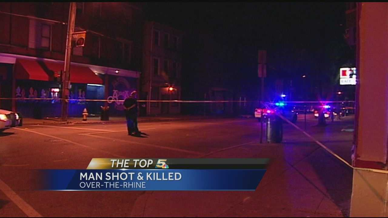Cincinnati police are looking for a killer in Over-the-Rhine.