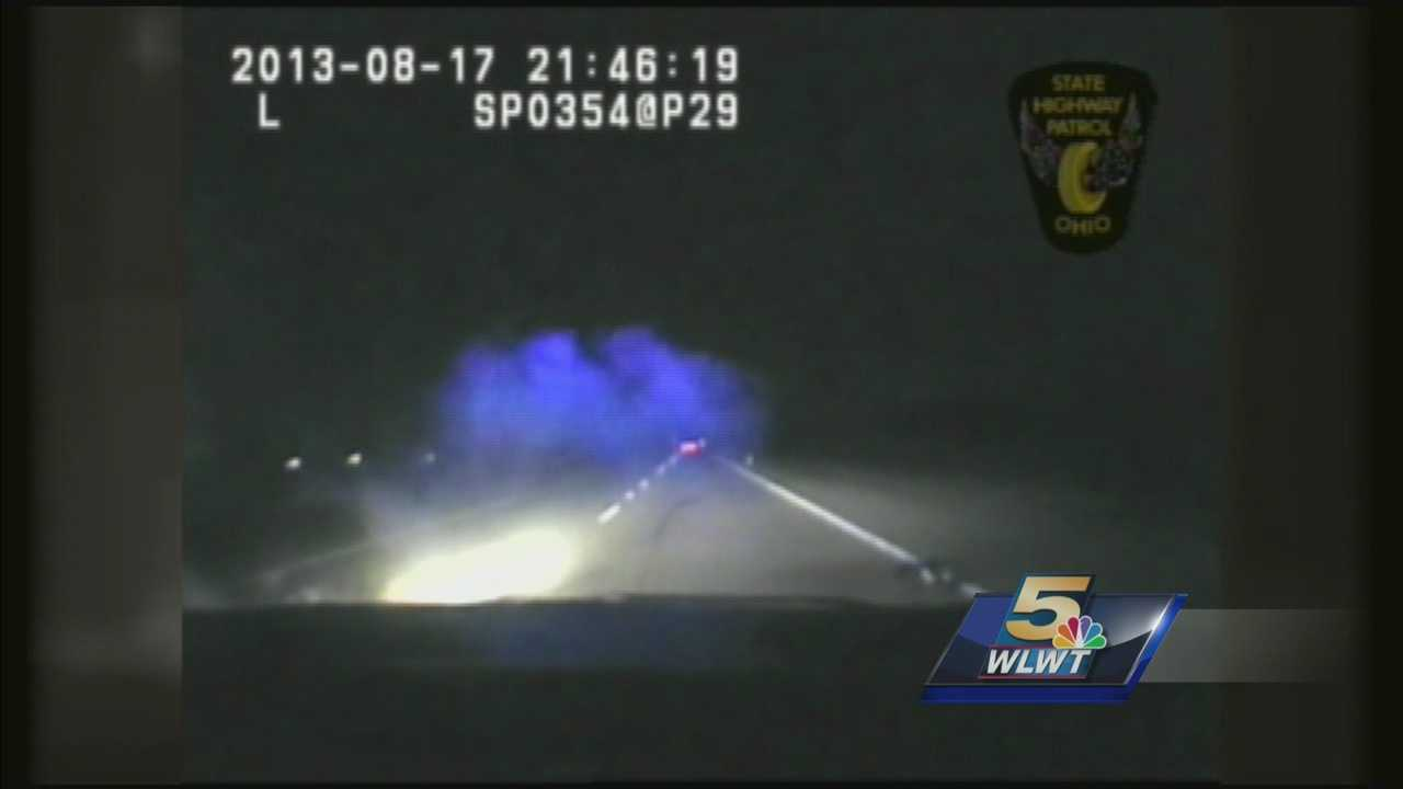 After lawsuit cruiser cam video released from trooper involved accident