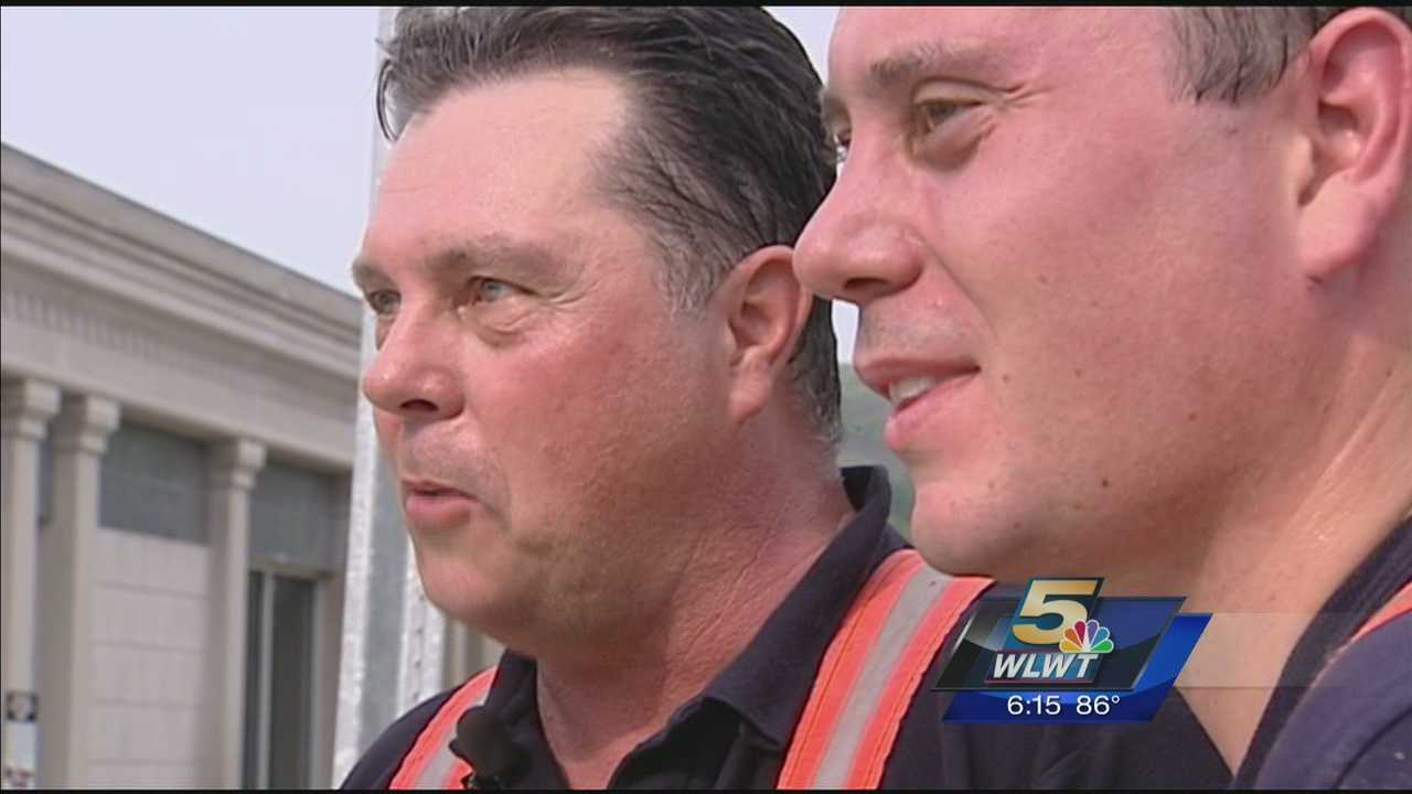 Father, son firefighters respond together as one career ends, another begins