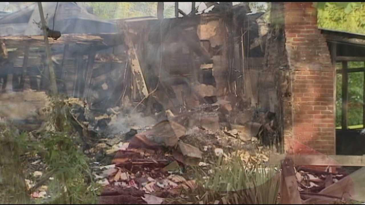 Blaze damages farmhouse on Cemetery Road