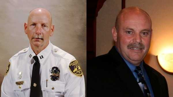 Captain Robert Arens and Police Chief Marc Fields