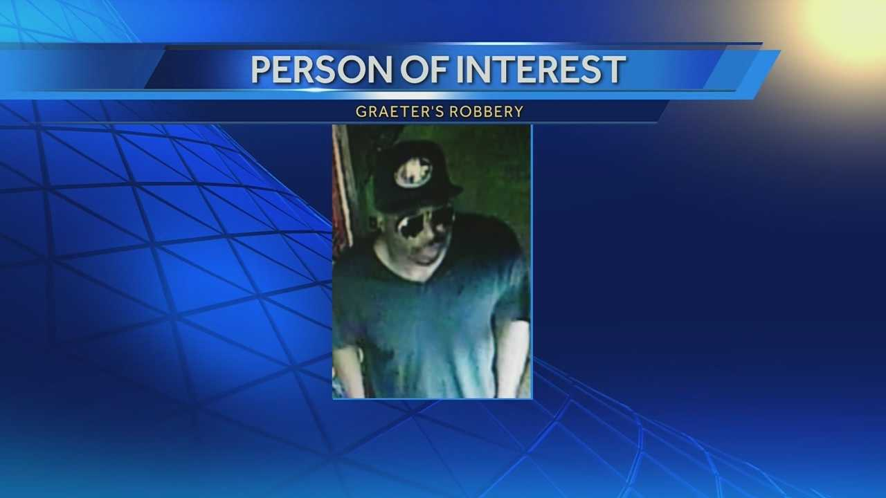 Police release photo of person of interest in Graeter's robberies