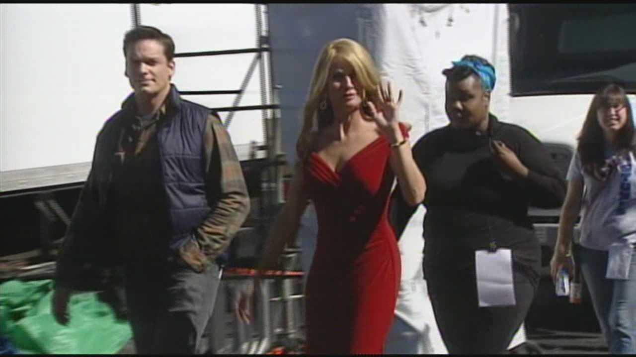 Hollywood stars invade Lebanon for new Christmas movie