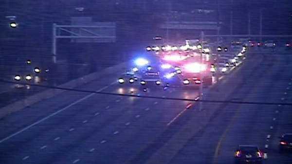 Image I-75 SB slowed by crash at Lockland split