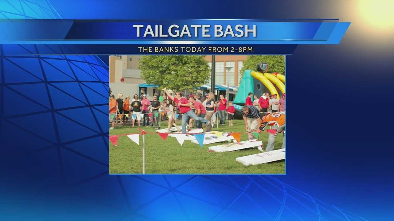 Tailgate Bash takes place on Schmidlapp Event Lawn at Banks