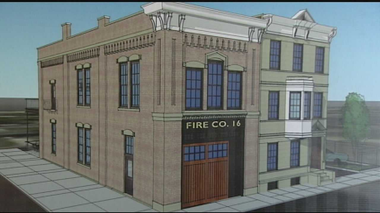 Renovation kicks off at  old firehouse No.16 in Walnut Hills