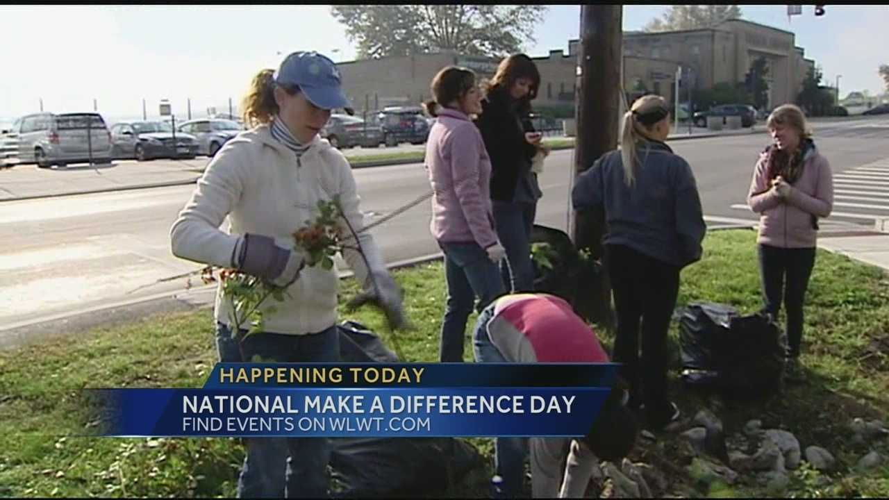 Volunteers roll up sleeves for national Make A Difference Day