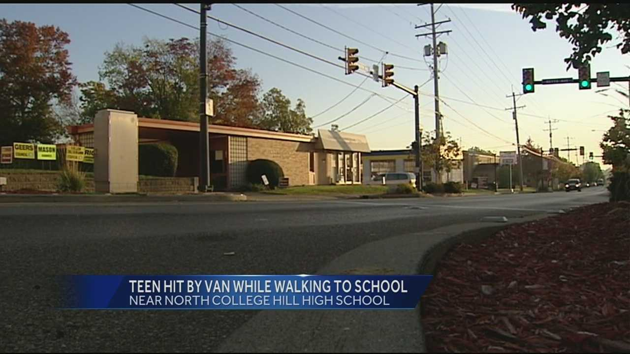 Teen listed in critical condition after being hit by minivan