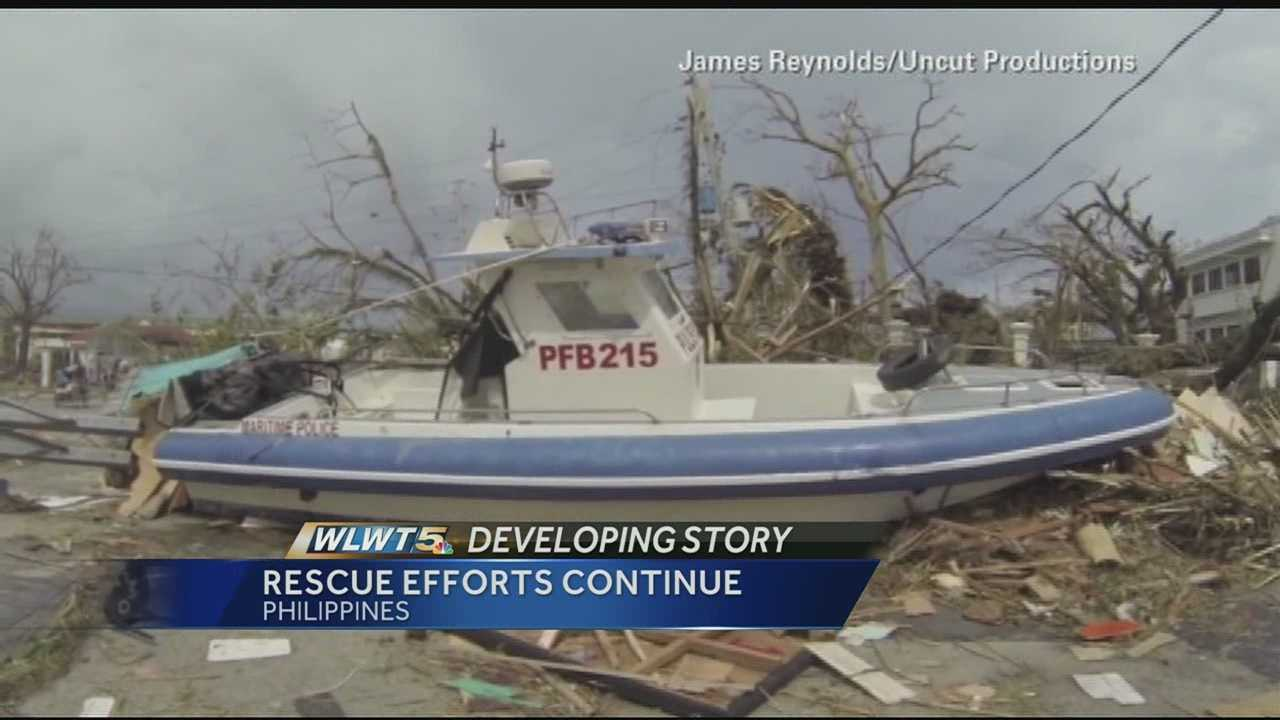 Cincinnati Filipino community waits for word after typhoon