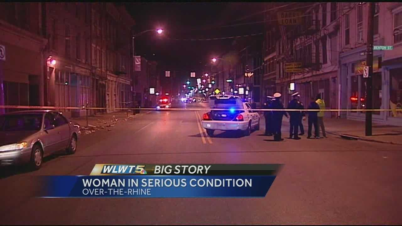 Woman in serious condition after being stuck by police officer in OTR