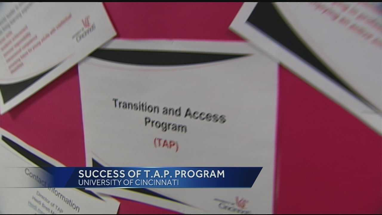 Glee spotlights University of Cincinnati's TAP program