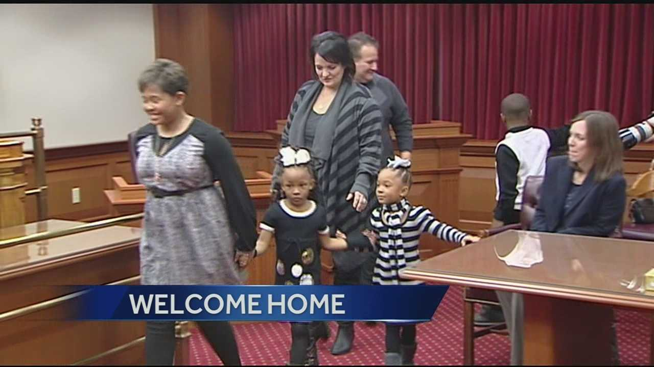 More than a dozen children were adopted in an annual event Friday in Hamilton County.