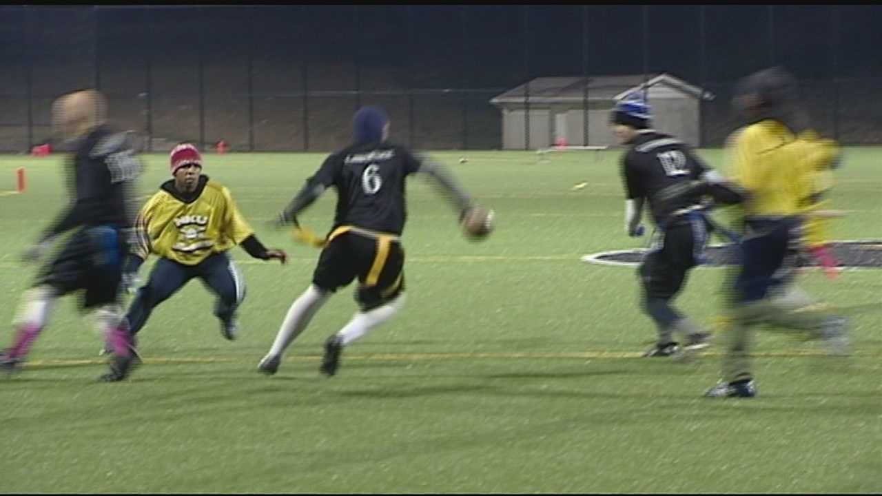 Football player, coach warn of concussions, head injuries