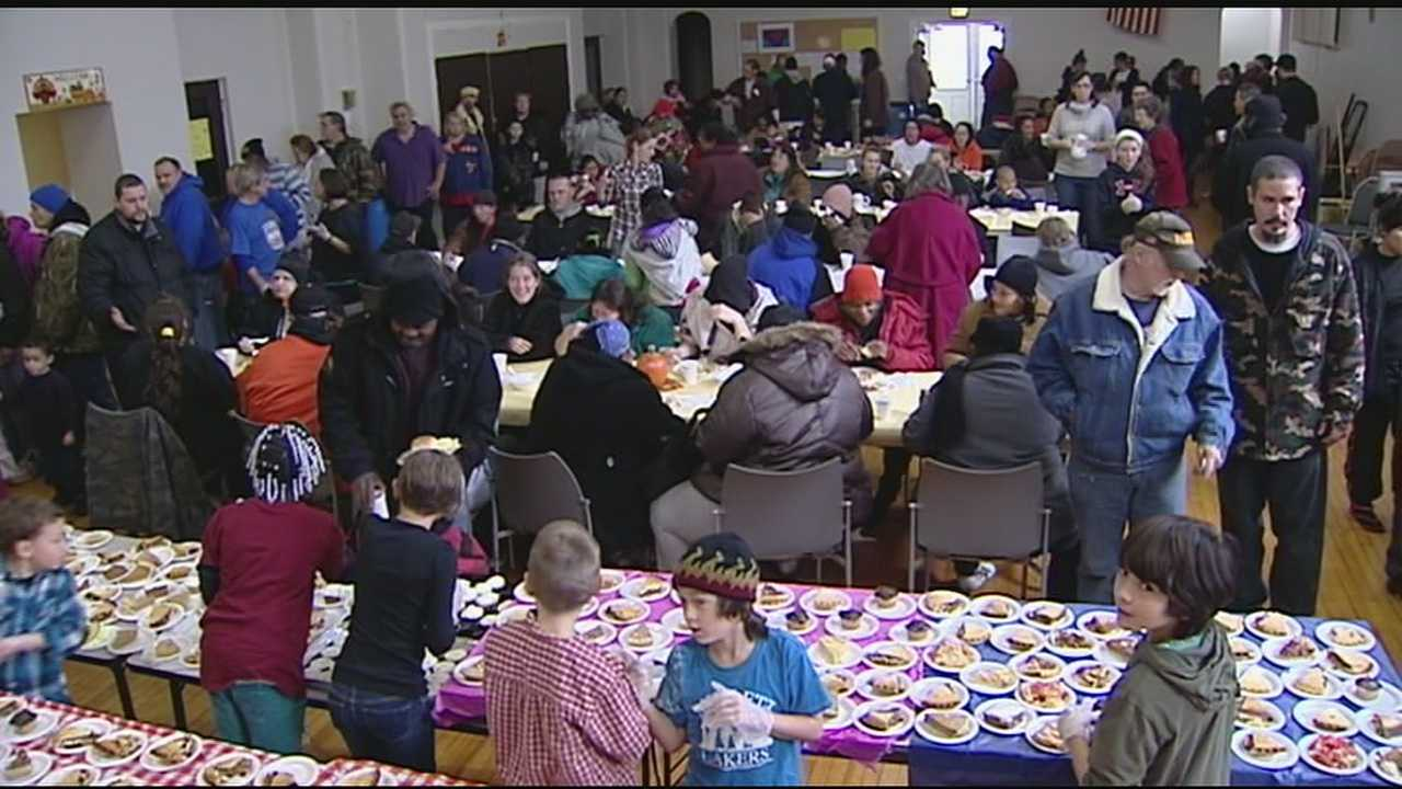 Bloc Cafe served holiday meals as part of their ongoing outreach
