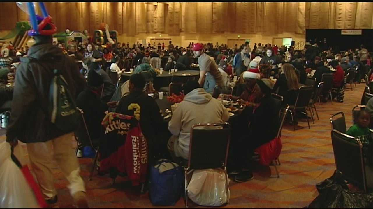More than 5,000 people served at Fall Feast