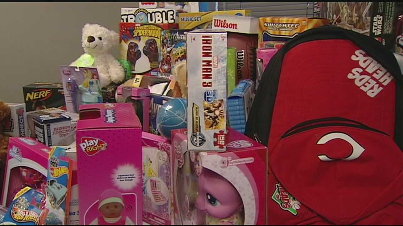 The toy drive allows anyone with an outstanding parking ticket to donate a new toy or toys instead.