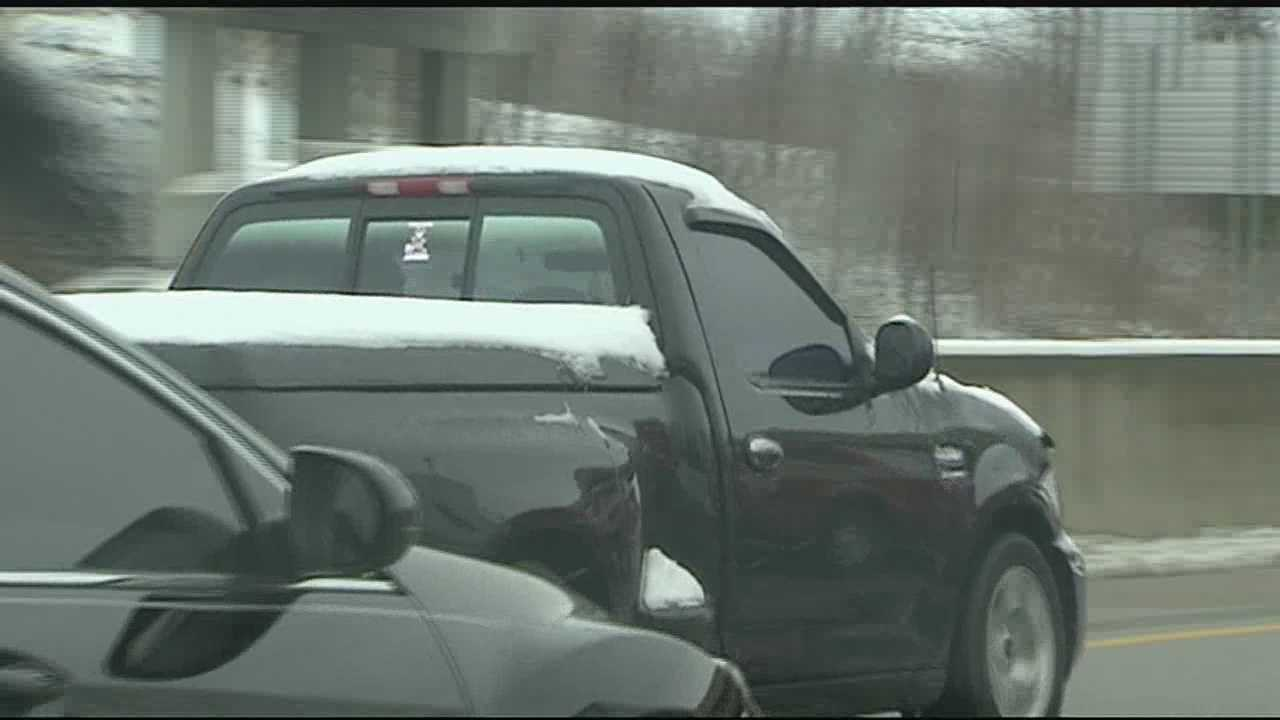 'Flying Ice' remains hazardous even after snow, ice cleared from roads