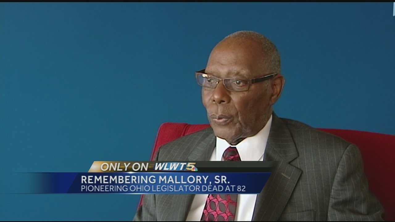 Mallory was elected to the Ohio House of Representatives in 1966 and held his seat for nearly 30 years. When he turned 80 in 2011, he told WLWT News 5's Courtis Fuller that he knew he wanted to go into politics since the age of 12.
