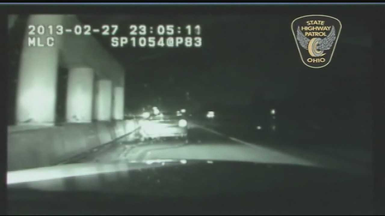 OSP releases video of trooper struck by car
