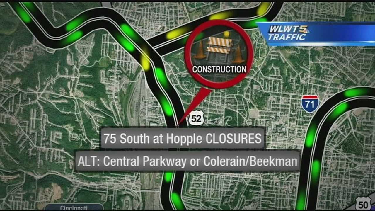 I-75 lane closures to cause delays this weekend