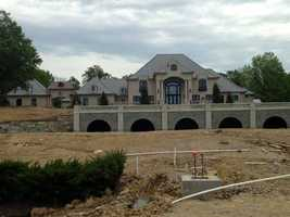 The fourth most-popular slideshow of 2013 was the sneak peek inside the mansion on Turkeyfoot Road. Click here to see how luxurious it is inside.