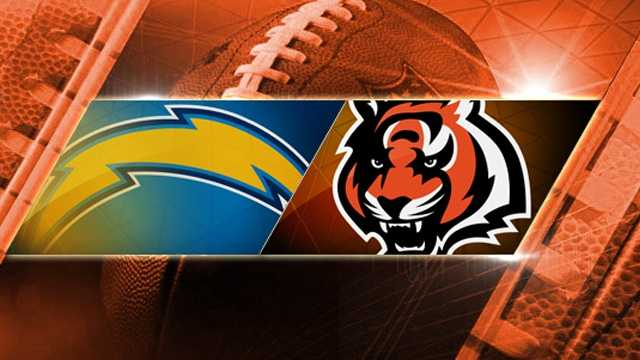 chargers at bengals playoff generic