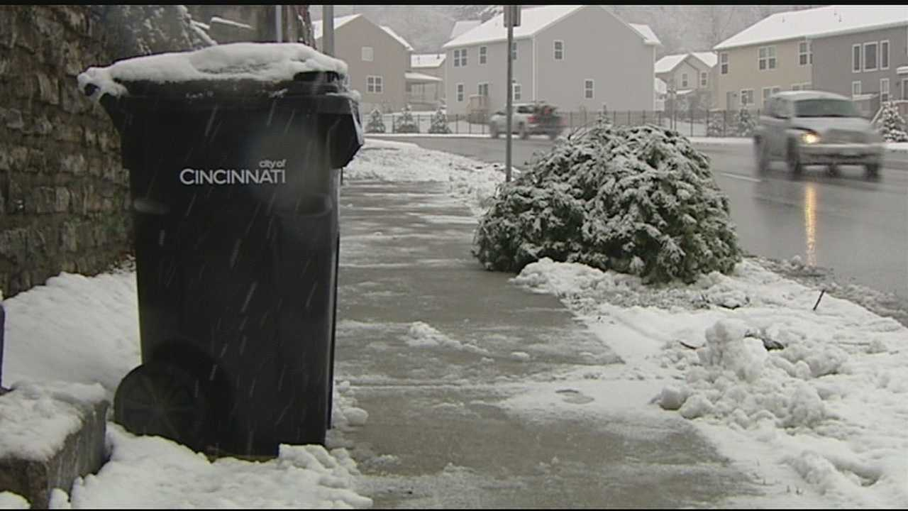 Communities offer Christmas Tree recycling