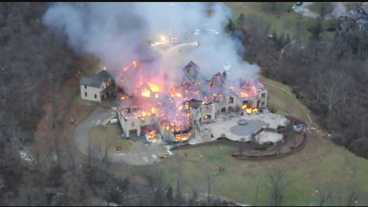 Massive Indian Hill home nearly leveled by fire