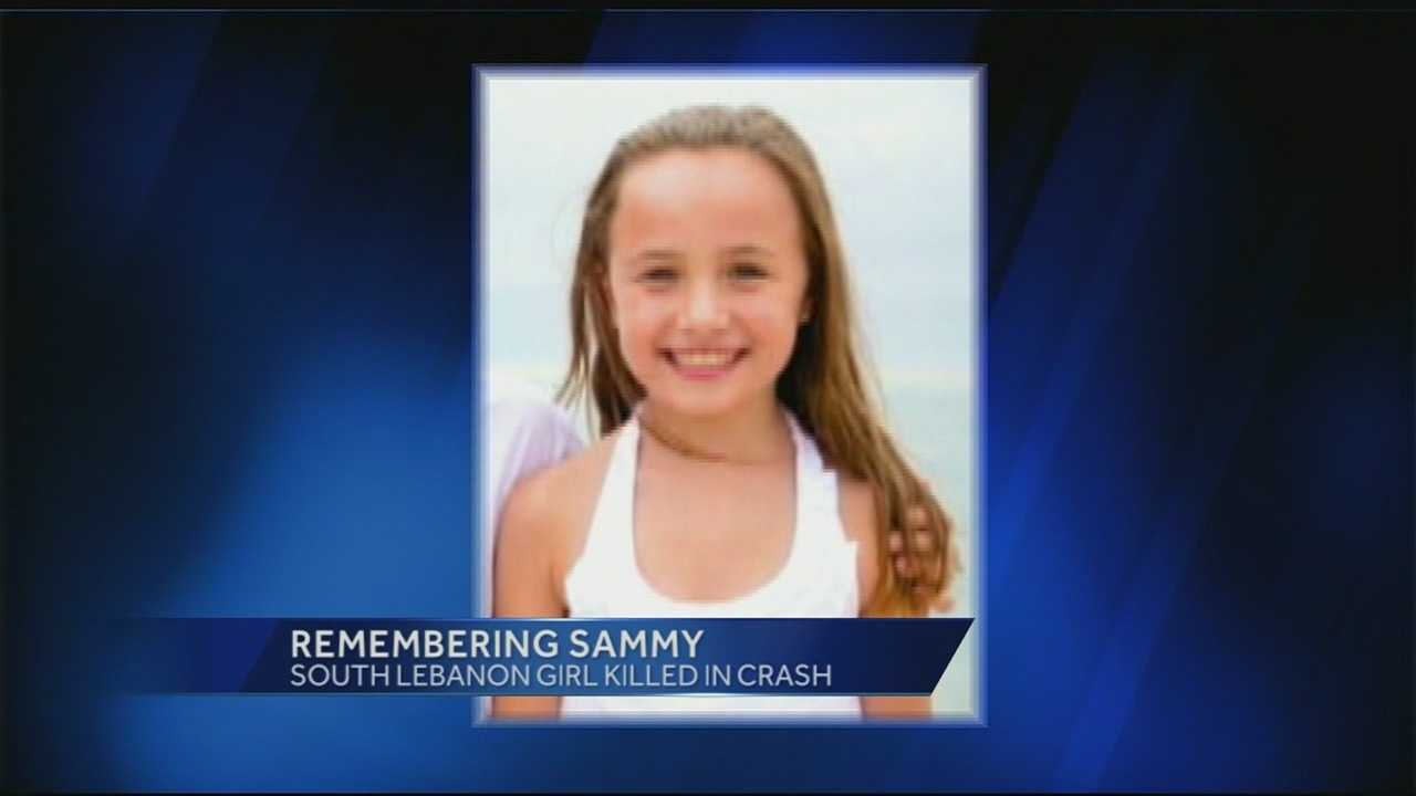 Sammy Reagan was killed in the 90 car pile-up that happened on 275 a year ago today. Today her family remembered the little girl's kindness and positive spirit.