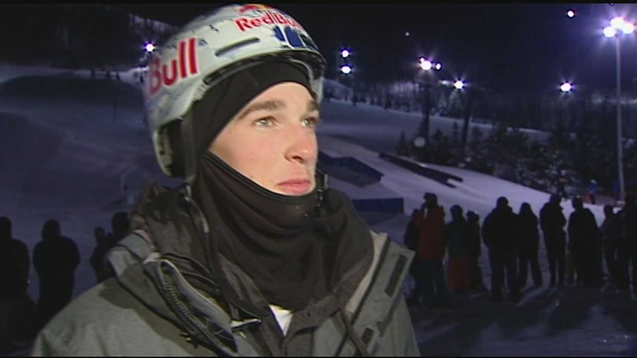 Nick Goepper prepares for Winter X Games, Olympics in Sochi