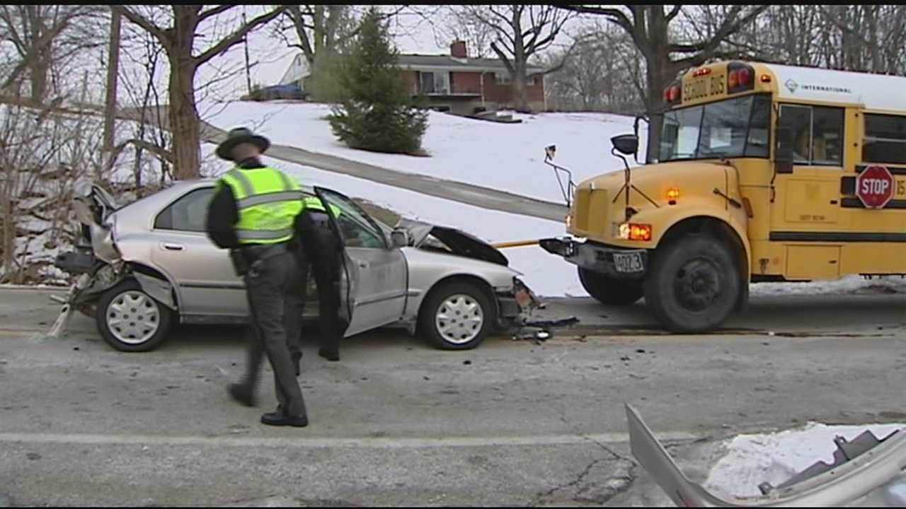 Father says bus driver saved daughters during school bus accident