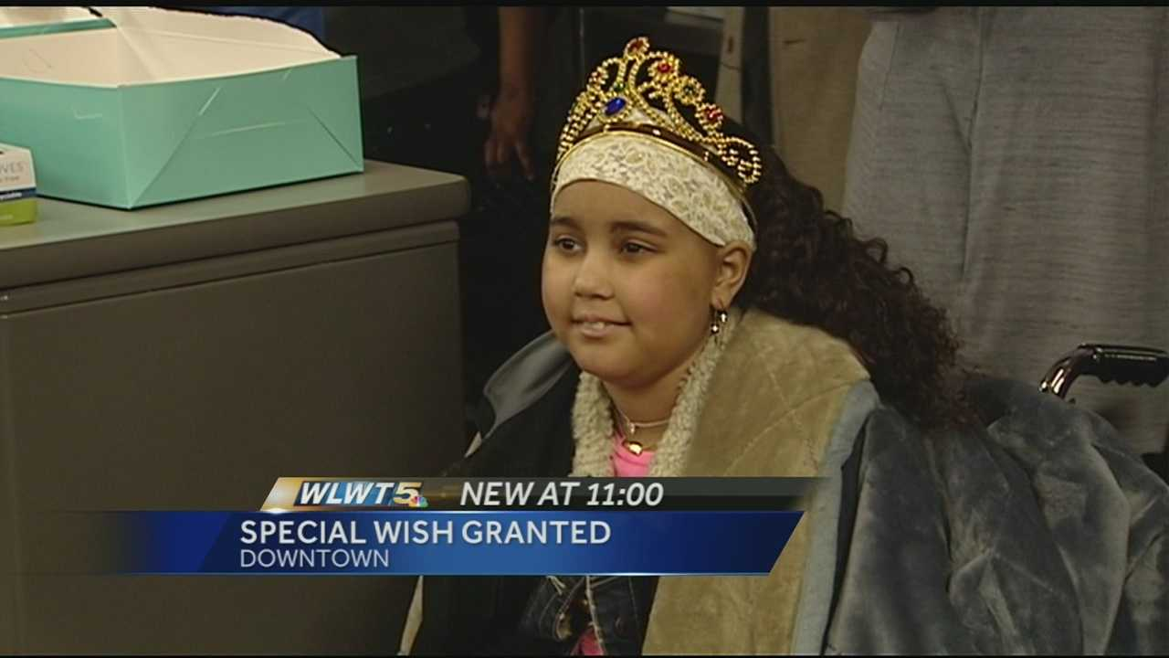 Girl's wish is to feed homeless