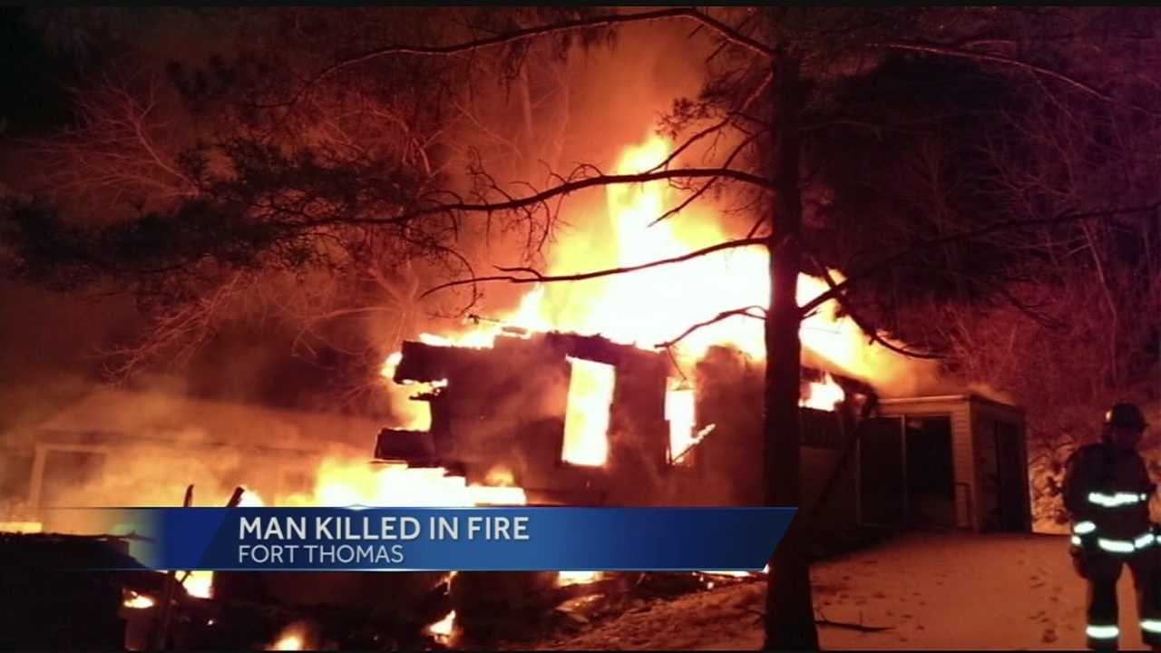 Fort Thomas man dies in Sunday morning fire