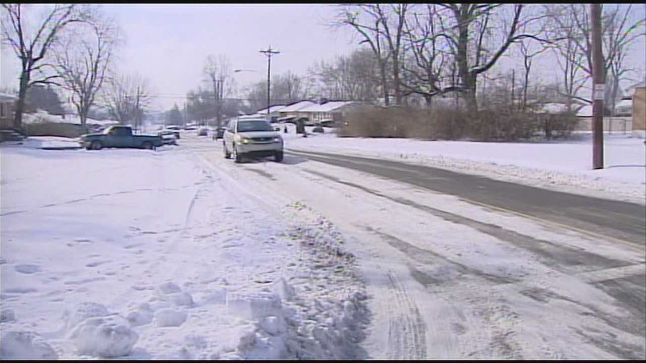 Like many other cities, Middletown's salt supply diminishing quickly