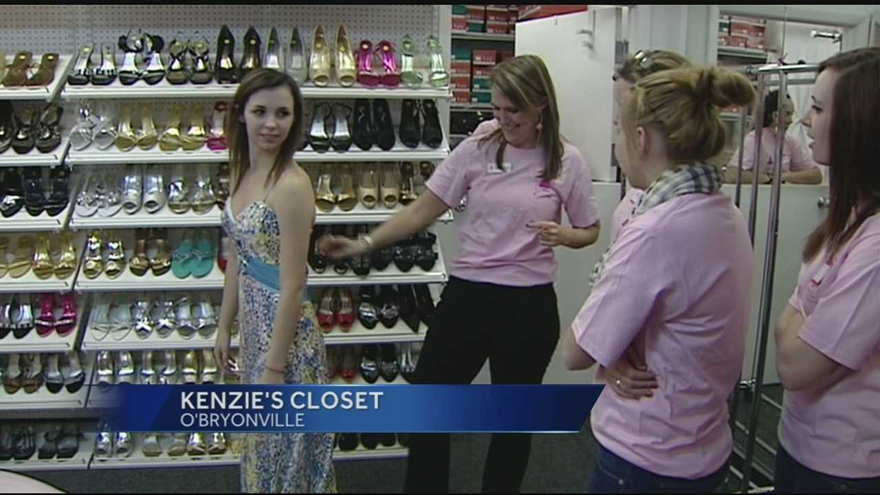 A nonprofit boutique collects formal wear and gives it to local girls.