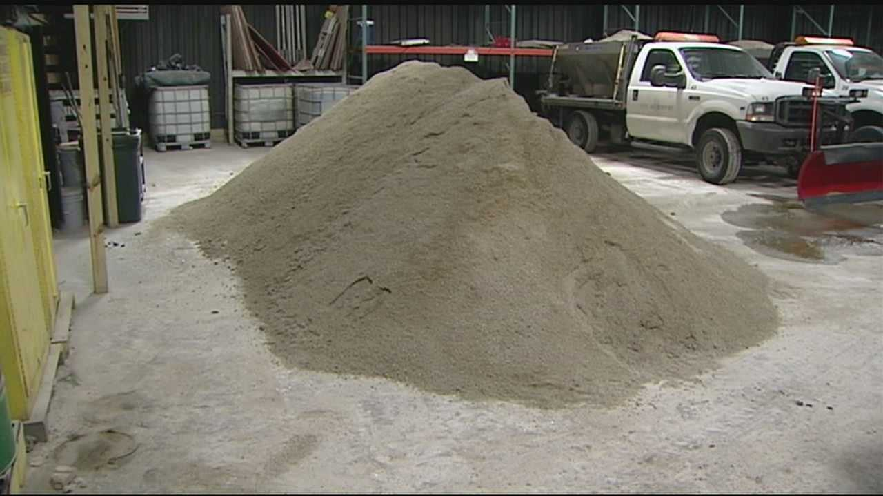 Newport: Not enough salt to treat all roads Friday